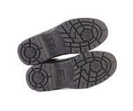 Черная подошва ботинка Стоковое Фото