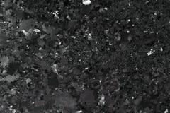 Черная предпосылка камня гранита Стоковое Изображение RF