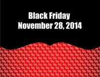 Черная предпосылка пятницы Стоковое Изображение RF