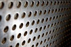 Черная предпосылка решетки диктора Стоковые Изображения RF