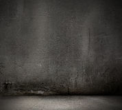 Черная предпосылка стены Стоковая Фотография RF