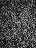 Черная предпосылка текстуры утеса Стоковое Изображение