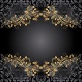 Черная предпосылка Стоковое Изображение RF