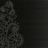 Черная предпосылка Стоковые Фотографии RF