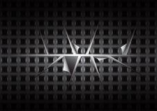 Черная предпосылка Стоковая Фотография RF