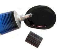 черная пробка краски Стоковое Изображение RF