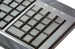 черная пусковая площадка номера клавиатуры Стоковая Фотография RF