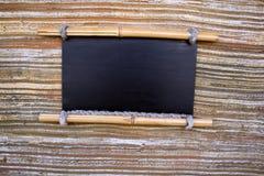 черная пустая доска Стоковая Фотография