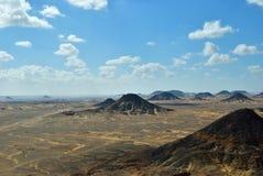 черная пустыня Египет стоковые изображения