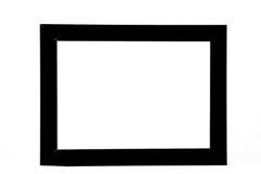 черная рамка деревянная Стоковые Фото