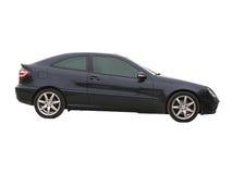 черная роскошь автомобиля Стоковое фото RF