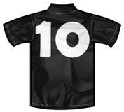 Черная рубашка 10 Стоковые Фотографии RF