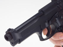 черная рука пушки Стоковая Фотография