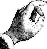 черная рука Стоковые Фото