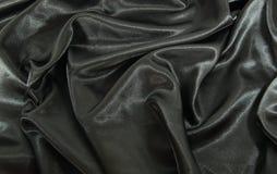 черная сатинировка стоковое изображение