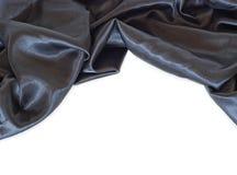 черная сатинировка стоковые фотографии rf