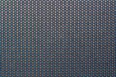 Черная, серая и голубая ткань автокресла Стоковые Изображения