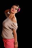 черная серая рубашка Стоковая Фотография RF