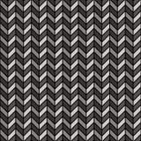 черная серая шевронная картина Стоковая Фотография RF