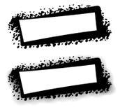 черная сеть страницы логоса grunge иллюстрация вектора