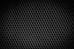 Черная сталь металла черноты текстуры картины предпосылки металла Стоковое Изображение