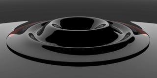 черная стеклянная пульсация иллюстрация вектора