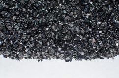 Черная стеклянная великолепная текстура Стоковые Фото