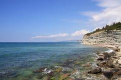 черная сторона моря Стоковые Фотографии RF
