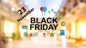 Черная суббота 23-ье ноябрь стоковые фото