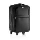 Черная сумка перемещения, портфель Стоковое Фото