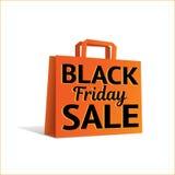 Черная сумка продажи пятницы Стоковая Фотография RF
