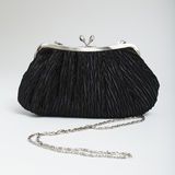 Черная сумка плеча Стоковое Изображение