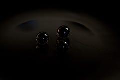 Черная сфера Стоковая Фотография RF