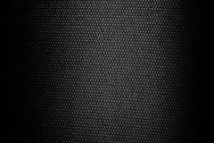 Черная текстура вещества стула Стоковая Фотография