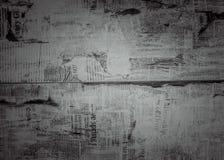 Черная текстура газеты предпосылки Стоковое фото RF