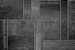 Черная текстура джинсов джинсовой ткани, картина ткани демикотона джинсовой ткани заплатки Стоковые Изображения RF