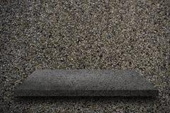 Черная текстура и черное groung Стоковое Фото