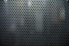 Черная текстура клеток металла Стоковая Фотография RF
