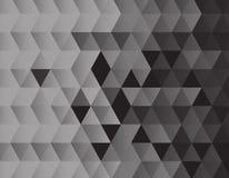 Черная текстура предпосылки треугольников иллюстрация вектора