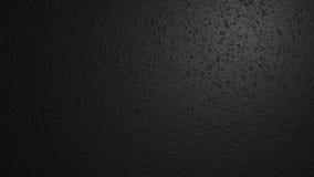 Черная текстура стены Иллюстрация цифров с местом для текста 3d представляют Стоковая Фотография RF
