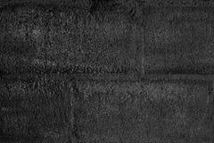 Черная текстура стены цемента Стоковые Фото
