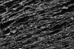 Черная текстура угля Стоковое Изображение