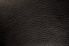 черная текстурированная кожа Стоковая Фотография RF