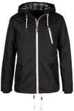 Черная теплая куртка Стоковая Фотография RF