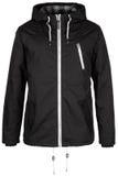 Черная теплая куртка Стоковые Изображения RF