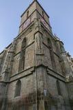 черная церковь Румыния brasov детали Стоковые Фотографии RF