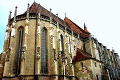 черная церковь Румыния brasov Стоковые Изображения RF