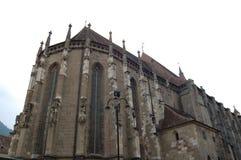 черная церковь Румыния brasov Стоковое фото RF