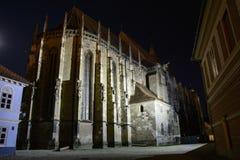Черная церковь, Brasov, Румыния стоковое фото rf