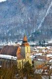 черная церковь brasov Стоковое фото RF